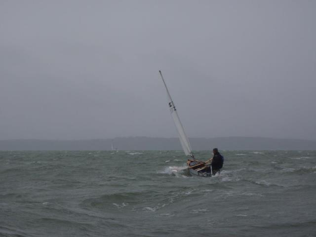 Astrid in the Solent