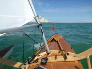 Approaching Beachy Head