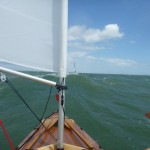 Exhilarating downwind sail from Cowes to Chichester Harbour