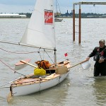 Launching at Shotley