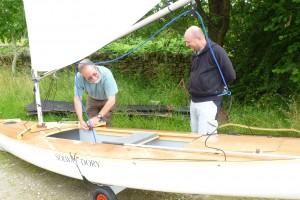 Chris Wheeler's New Boat