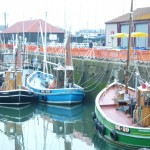 Classic Trawlers at Arbroath