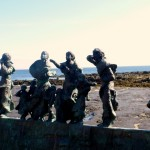 Memorial at Burnmouth- Fishing Disaster of 1881